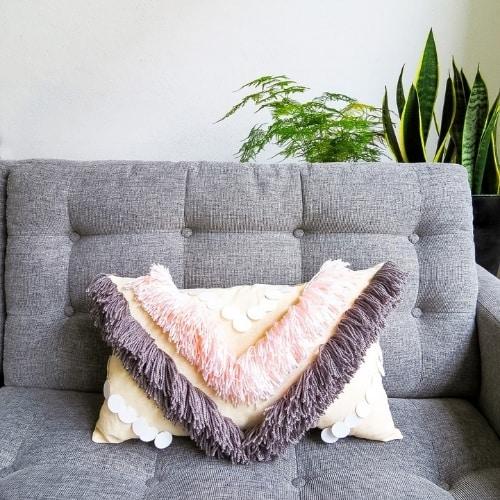 homemade fringe pillow