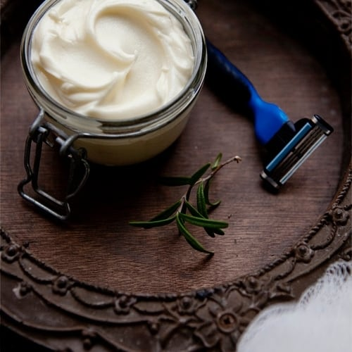 homemade shave butter