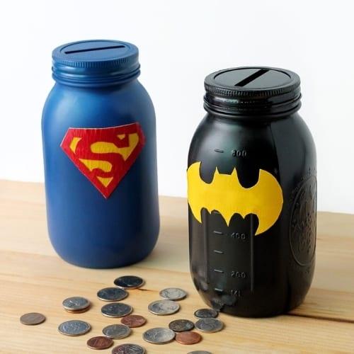 mason jar craft money banks
