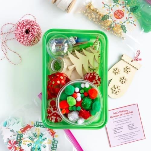 kid's ornament craft kit