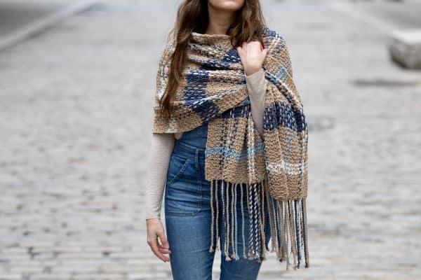 homemade scarf