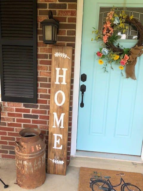 front porch farmhouse sign