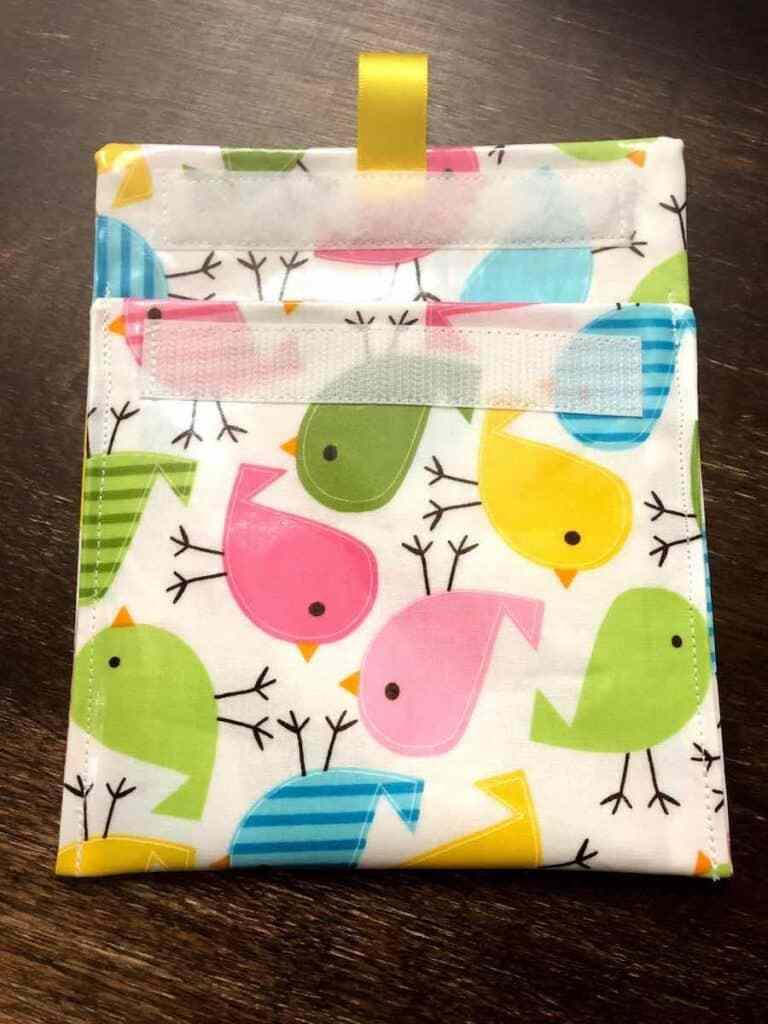 fabric sandwich bag