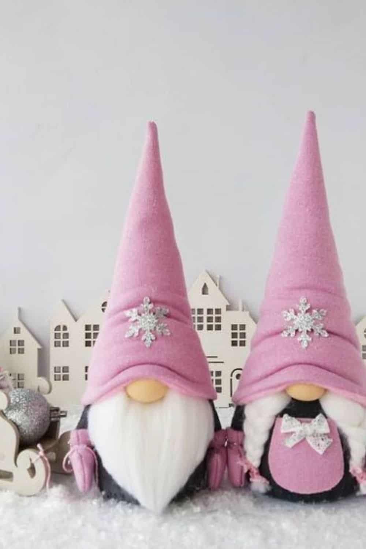 boy and girl Scandinavian gnomes