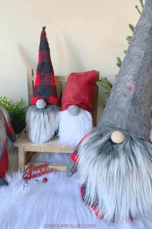 faux fur gnome collection