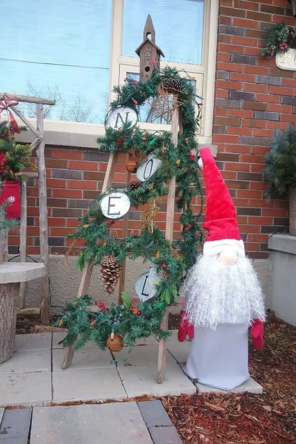 large gnome outdoor decor