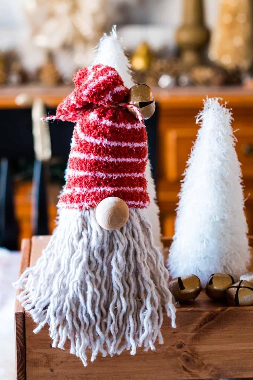 DIY Christmas gnomes-dollar tree gnome project