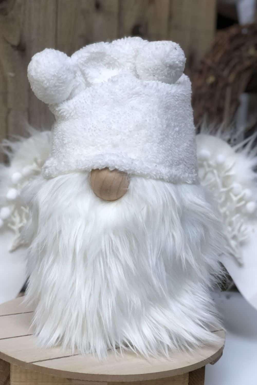 white angel Christmas gnome